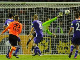 Alexander Esswein (1. FC Nürnberg), Tor 1:0