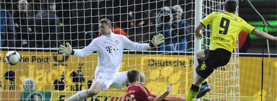 Lewandowski trifft zum 4:1
