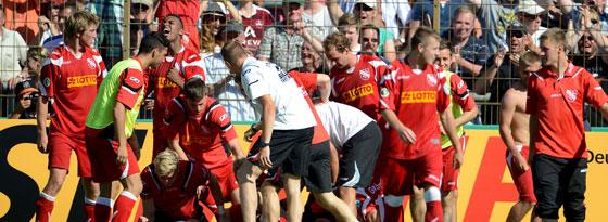 Party in Garbsen: Der TSV Havelse wirft den Club aus dem Pokal.
