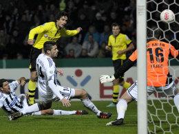 Mats Hummels trifft zum 1:0