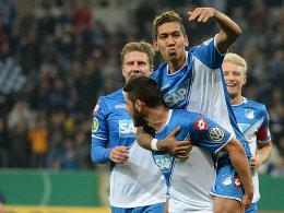 Rockte die TSG-Offensive: Roberto Firmino war an vier Treffern beteiligt.
