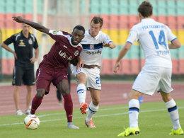 Teuer verkauft, dennoch raus: Der BFC Dynamo zog gegen den FSV Frankfurt den Kürzeren.