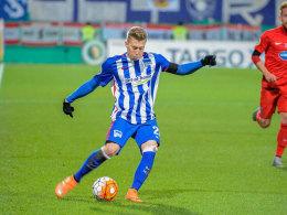 Hertha: Mit Ibisevic-Doppelpack ins Halbfinale