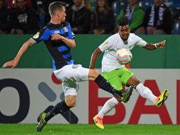 Didavi bringt Wolfsburg fr�h auf Kurs