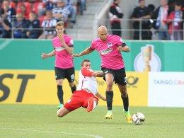 Berliner Kraftakt: Kalou rettet die Hertha