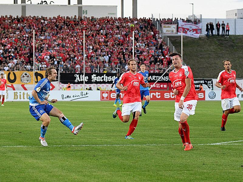 Alen Halilovic trifft zum Hamburger Sieg