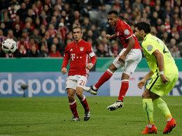 Greens Treffer beschert Bayern das Achtelfinale