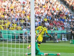 Aubameyang chippt BVB zum Pokalsieg