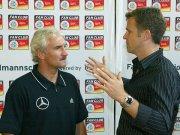 Rudi Völler und Oliver Bierhoff