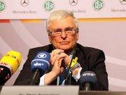 Angeschlagener Präsident: DFB-Boss Dr. Theo Zwanziger.