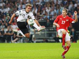 Mario Götze trifft gegen Österreich zum 6:2-Endstand