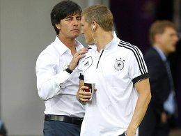 Bekommt vom Bundestrainer noch etwas Zeit in Sachen Nationalelf-Comeback: Bastian Schweinsteiger.