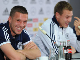 Lukas Podolski und Holger Badstuber