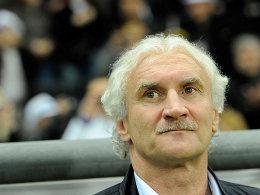 Nicht einverstanden mit der Gegnerauswahl zum Jahresabschluss: Rudi Völler.
