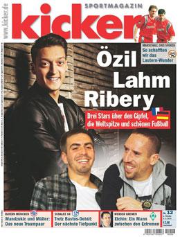 Die aktuelle Ausgabe des kicker sportmagazin vom 4. Februar 2013