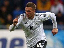Fährt mit in die USA: Lukas Podolski.