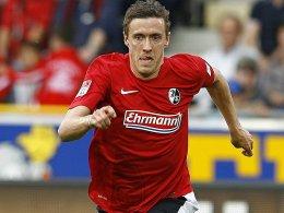 Hat deutlich an Fahrt aufgenommen: Max Kruse vom SC Freiburg.