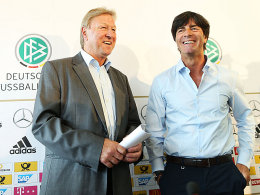 Horst Hrubesch und Joachim Löw