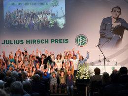 Im Historischen Rathaus Köln wurde der Julius-Hirsch-Preis 2013 vergeben.