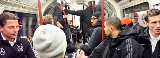 DFB-Elf in der Underground