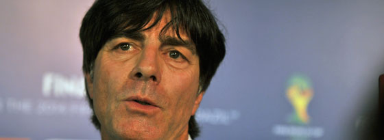 Hatte noch etlichen Baustellen: Bundestrainer Joachim Löw.