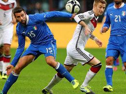 Andrea Bazagli gegen Marco Reus