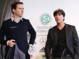 Oliver Bierhoff und Joachim Löw