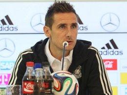 Den WM-Torrekord im Visier: Miroslav Klose.