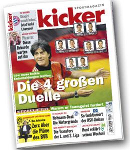 kicker, Ausgabe 45