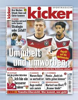 kicker-Ausgabe 59