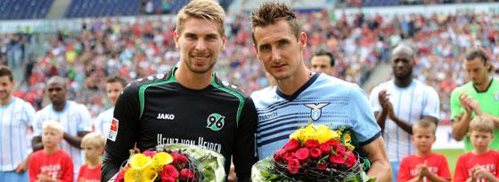 Miroslav Klose und Ron-Robert Zieler