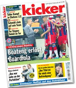 kicker, Ausgabe 77/2014