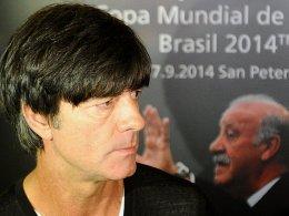 """""""Die Monate bis zum Jahresende werden unglaublich schwer für uns"""", glaubt Bundestrainer Joachim Löw."""