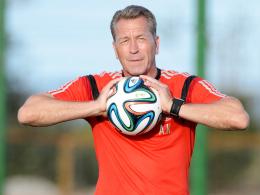 Hat eine große Auswahl an erstklassigen Torhütern: Bundestorwarttrainer Andreas Köpke.