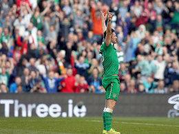 Irlands Kapitän Robbie Keane