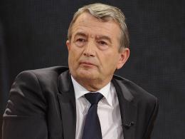 Ist bei der Bewerbung f�r die EM 2024 optimistisch: DFB-Pr�sident Wolfgang Niersbach.