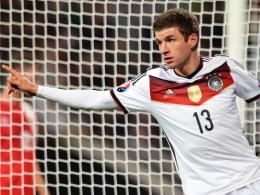Zurück im Team: Bayern Münchens Angreifer Thomas Müller steht im Kader für den Doppelspieltag der deutschen Nationalmannschaft.