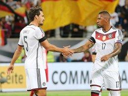 Jerome Boateng und Mats Hummels