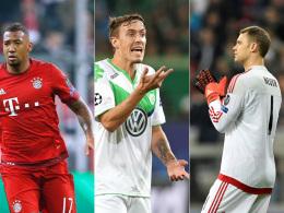 Jerome Boateng, Max Kruse und Manuel Neuer
