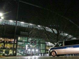 Musste geräumt werden: Die HDI-Arena zu Hannover.
