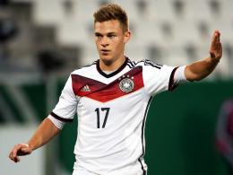 Muss sich noch etwas gedulden: Bayerns Joshua Kimmich läuft für die U21 auf.
