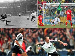 "Wembley-Tor 1966, ""Wembley-Tor"" 2010 und Hamanns Jubel 2000"