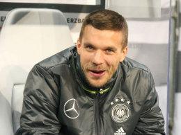 L�w k�ndigt �berraschung an - Podolski guter Dinge