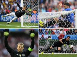 Neuer vs. Buffon: Das Duell der Giganten