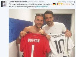 Draxler: Darum hatte auch Podolski ein Buffon-Trikot