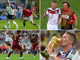 Shootingstar, Kapit�n, Weltmeister - Schweinsteigers Nationalelf-Karriere