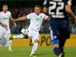 Steht vor seinem ersten Einsatz in der U 21: Dominik Kohr vom FC Augsburg.