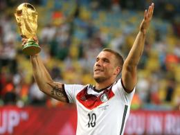Podolski-Abschied im März gegen England in Dortmund