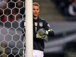 War weitgehend beschäftigungslos: Nationalkeeper Manuel Neuer.