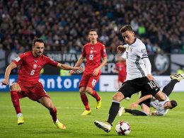 Özil: Vorbereiter in Topform